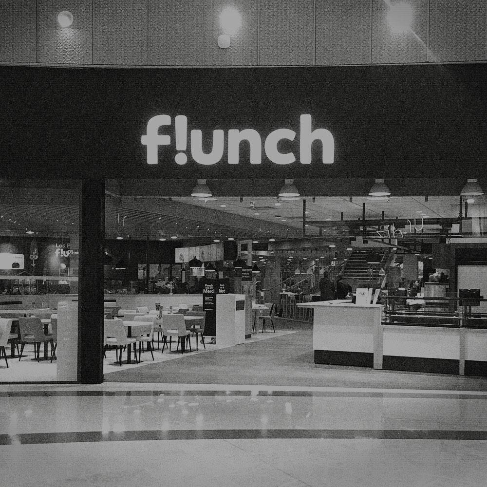Conception et design site flunch franchisés